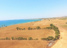 Beachfront tourist land for sale