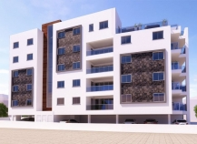 Two bedroom apartments under construction in Larnaca