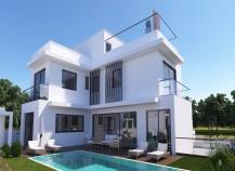 Luxury six bedroom villa for sale in Oroklini