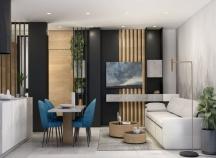 Three bedroom apartments in New Hospital area