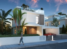 Villas for sale off Larnaca Dhekelia road
