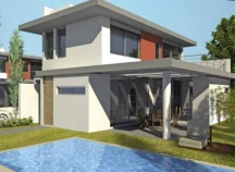 Detached two-storey villas in Alaminos