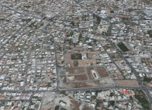Large corner plot for sale in Larnaca