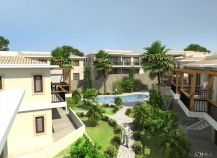 Developmnet of Villas and apartments on plans