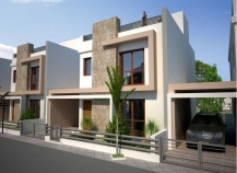 Semi detached villas for sale in Oroklini, Larnaca