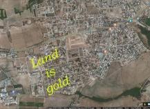 Residential corner plot for sale in Krasa