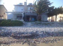Beachfront town house in Pervolia